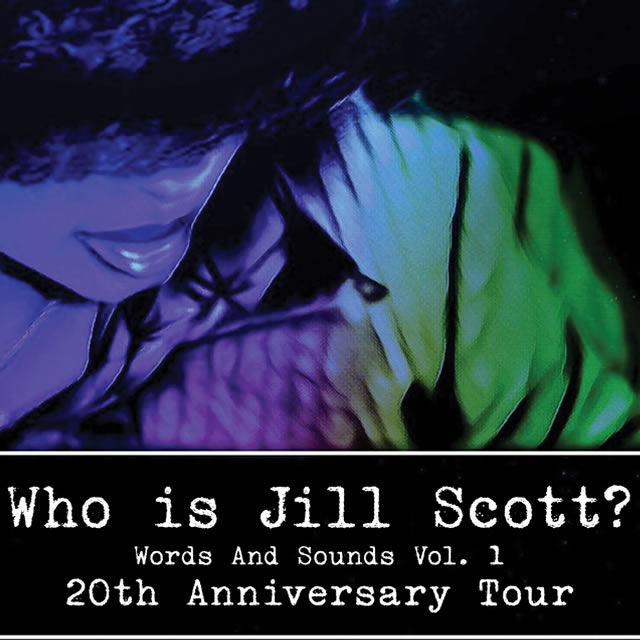 JILL SCOTT - 20th Anniversary Concert Tour - Saturday March 21, 2020 - 8:00pm at Township Auditorium in Columbia, SC - w/ Special Guest: Moonchild